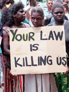 Your law is killing us